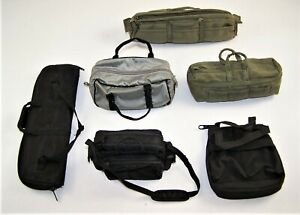 """1:6 Scale Lot of 6 Misc Bags for 12"""" Action Figures #116"""