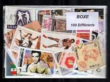 Boxeo - Boxing 100 sellos diferentes matasellados