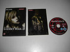 SILENT HILL 3 III Pc DVD Survival Horror - FAST DISPATCH