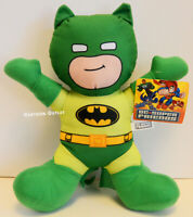 "Batman Plush Doll 12"" Green Stuffed Doll Toy Gift Authentic New DC Comics New"