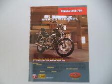 advertising Pubblicità 1999 MOTO GUZZI NEVADA CLUB 750