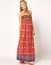 NEW Ralph Lauren Denim & Supply Embellished Embroidered Top Maxi Dress, Size S