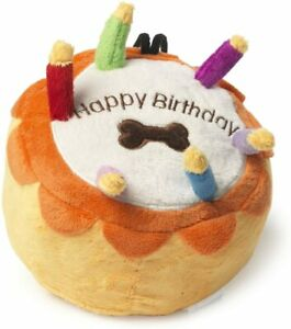 House of Paws Dog Birthday Cakes with squeaker, Large