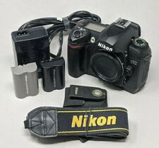 Nikon D D70 6.1MP Digital SLR Camera - Black (Body Only) - 22K Clicks