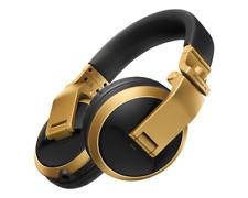 Pioneer HDJ-X5BT-N DJ Gold Headphones with Bluetooth