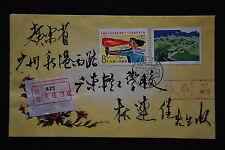 China PRC T38 Great Wall 8f, J88 8f on Cover - Liaoning-Dalian cds 1985.3.23