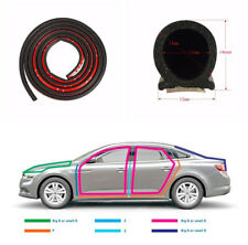 4M D-shape Auto Car Truck Door Window Rubber Seal Strip Weather-strip Seal Trim