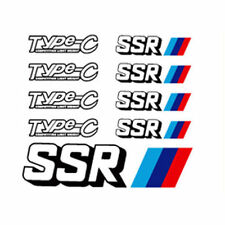 SSR Reflect Wheel Sticker Type-C 9p For Universal fit