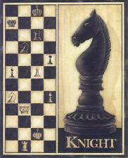 Double Framed Wall Hanging Chess Pieces - Knight  (PIC-Knight)