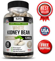White Kidney Bean Extract 60ct- Carb Blocker, Appetite Suppressant, Low Keto