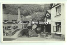 tp9198 - Somerset - The Packhorse Pub and Hump Bridge, at Allerfield - postcard
