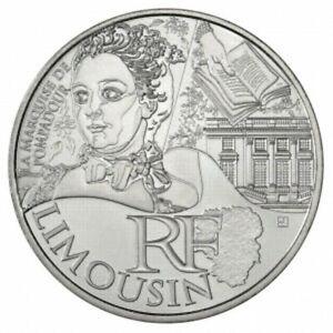Limousin 2012 - 10 Euro des Régions en Argent