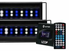 Current USA 4227 Orbit Marine IC PRO LED Reef Aquarium Dual Light System