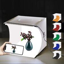Photo Studio Photography Lighting Tent Light Cube Mini Box + 6pcs Backdrops Us