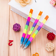 5Pc/set Building Block Non-Sharpening Pencil Bullet Pencils for Kids Stationery
