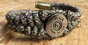 12 Gauge Made in USA Paracord Bracelet