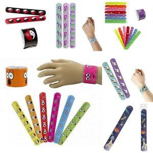 12 Klatscharmband Kinder Schnapparmband Kindergeburtstag Mitgebsel Mitbringsel