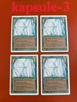 4x Wall of Ice | Revised | MTG Magic The Gathering Cards