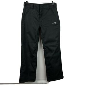 "Oakley Mens Small x 31"" BioZone FN Dry 10K Snowboard Ski Pants Black"