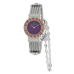Charriol 028SCD3.540.566 Women's St. Tropez Purple Quartz Watch