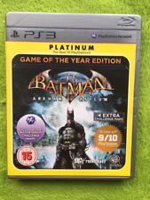 Ps3-Batman: Arkham Asylum (Platinum) game of the Year Edition