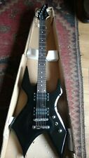 Metal Axe Electric Guitar Black