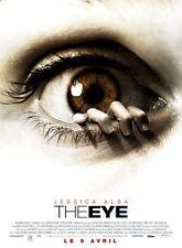 Affiche 120x160cm THE EYE (2008) Jessica Alba, Chloë Grace Moretz, Nivola NEUVE