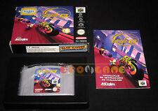 EXTREME G  Nintendo 64 N64 Versione PAL Italiana ••••• COMPLETO