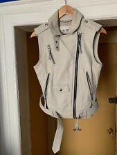 Coach Women's Soft Leather Vest Size S
