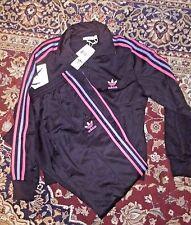 womans Firebird  set BLACK with Pink and Aqua Stripes XL