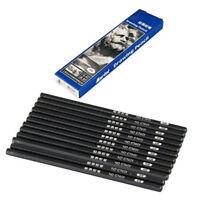 12 x Zeichnung Stift Bleistifte Kopieren Taetowierung Schwarz L8B4