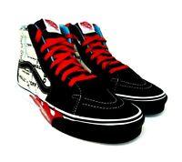 NEW Men's Vans Sk8-Hi OTW Off The Wall Flames Athletic Sneakers Shoes Size 8.5