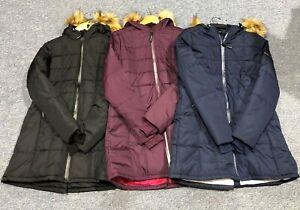 Equidor Black 3/4 Length ShowerProof Riding Coat. Small-XXlarge RRP £79.99