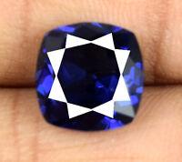 Loose Gemstone Blue Tanzanite 6-8 Ct Natural Cushion Weekend Sale AGSL Certified