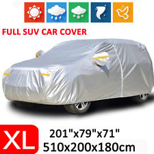 XL Full SUV Car Cover Waterproof Outdoor Dust Scratch Resistant Rain Protection
