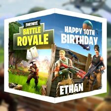 Fortnite Battle Royal Birthday Card PERSONALISED Name Age Son Grandson Xbox PS4