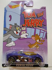 HOT WHEELS 2014 TOM AND JERRY - POWER PIPES   #02/06