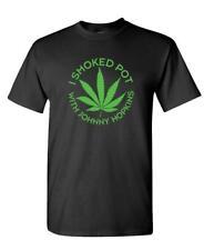 I SMOKED POT WITH JOHNNY HOPKINS - movie - Cotton Unisex T-Shirt