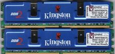2GB 2x1GB KINGSTON HYPERX KHX6400D2K2/2G DDR2-800 PC2-6400 PERFORMANCE RAM KIT