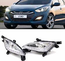 Genuine Hyundai LED DRL Fog Lamp Light + Cover 4P For 2012-2016 Elantra GT : i30