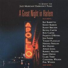 LOT#809  A GREAT NIGHT IN HARLEM (Various Artists) [Playboy Jazz] 2 CD SET