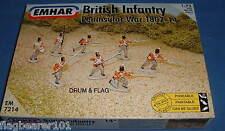 EMHAR 7214 NAPOLEONIC BRITISH INFANTRY - PENINSULAR WAR. 1:72 Scale Plastic