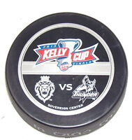 2013 KELLY CUP FINALS GAME PUCK ECHL PLAYOFFS Reading Royals vs Stockton Thunder