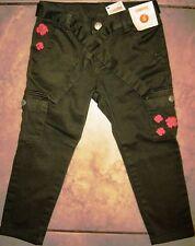 Nwt Gymboree Burst of Spring Flower Cargo Belted Skinny Capri Pants 5 New