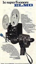 PUBLICITE 1968  ELMO  caméra super 8 sonore
