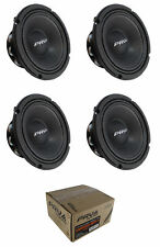 "4x 6"" PRV Audio 6MR500-NDY-4 Neodymium Mid Range 4 Ohm 2000W Car Audio Speaker"