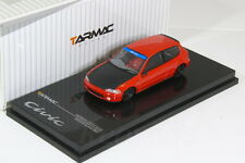 Tarmac 1/64 Honda Ciciv EG6 Group A Racing Red