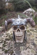 Puckator Sk236 Crâne de Décoration portant un Casque avec Cornes Viking ...