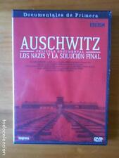 DVD AUSCHWITZ - PELICULA DOCUMENTAL LOS NAZIS Y LA SOLUCION FINAL COMO NUEVA (G3
