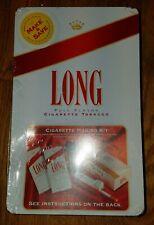 BRAND NEW LONG FULL FLAVOR CIGARETTE MAKING KIT (TOBACCO, TUBES, MAKER, CASE)
